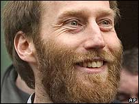 Freed hostage Arjan Erkel