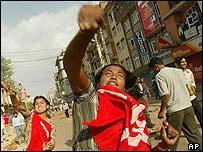 Protests in Kathmandu, Nepal