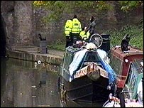 Police at Regents Canal