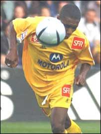 Nantes and Ivory Coast's Gilles Yapi Yapo