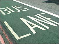 Bus lane (freefoto.com)