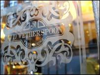 JD Wetherspoon pub