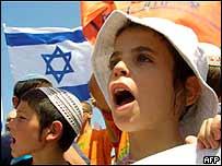Anti-Sharon protest