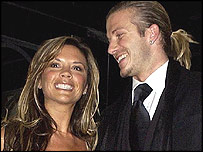 David y Victoria Beca