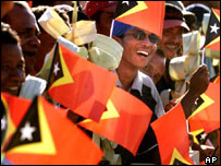 Independence celebrations in East Timor