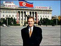 Roger Barrett in Pyongyang