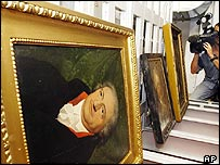 Paintings of Goethe