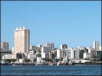 Maputo - capital of Mozambique