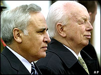 Israeli and Hungarian presidents