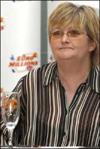 EuroMillions lottery winner Marion Richardson