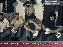 Italian Iraq hostages