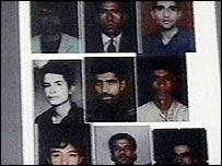 Missing Afghan footballers