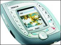Nokia 7600 3G phone, Nokia