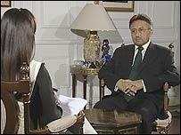 Pakistan's President Pervez Musharraf on Hard Talk