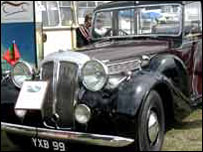 One of the cars that took part in the 2003 event