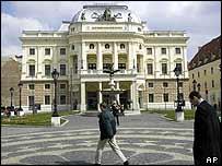 Bratislava's newly renovated opera house