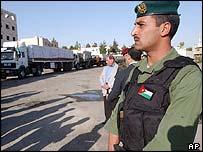 Special forces Jordanian soldier