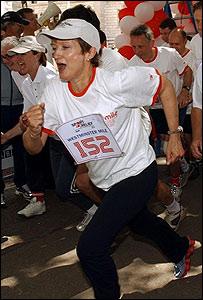 Tessa Jowell, ministra brit�nica de Cultura y Deporte.