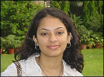 Sheena Bhalla, college student