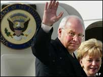 Dick Cheney and his wife
