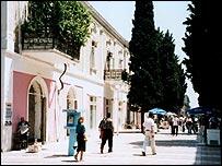 A street in Baku