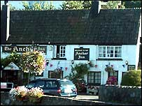 Anchor pub in Cockwood, Devon