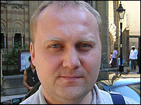 Ivan Leonidov, a Russian law student
