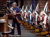 US car factory worker