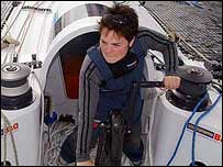 Ellen MacArthur on her new trimaran