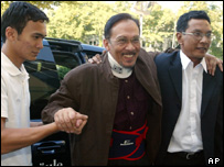 Anwar Ibrahim in Munich, 05/09/04