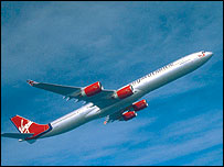Virgin Atlantic Airbus A340_600