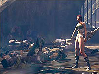 Heavenly Sword screenshot (Courtesy Just Add Monsters)