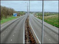 M1 with no traffic on it