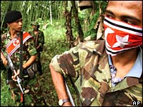 Free Aceh movement (GAM) rebels - Archive picture