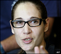 Left-wing activist Tali Fahima