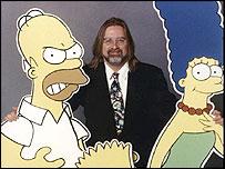Matt Groening y los padres de su familia