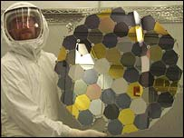 Collection wafers put in Genesis (Nasa)