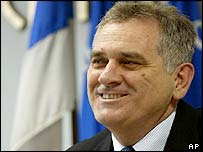 Tomislav Nikolic of the ultra-nationalist Serbian Radical Party
