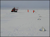 Radar reflectors on ice   Anders Karlqvist, IODP