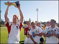 England won the inaugural Churchill Cup last year