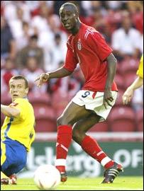 England under-21 international Carlton Cole