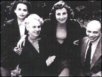 Dorrit Sander and her family