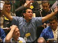 Oil traders, New York Mercantile Exchange