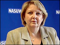 Chris Keates, NASUWT deputy general secretary