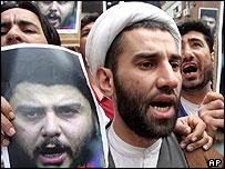 Shia protestors