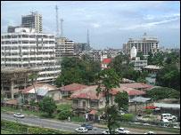 Tanzanian capital