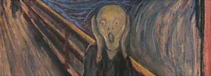 Edvard Munch - Vista parcial de