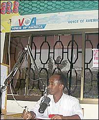 Voice of America on FM radio in Mogadishu