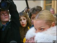 Anastasia Volochkova at the Bolshoi in December 2003