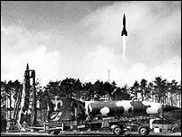 Rocket takes off at Peenemuende   Internet
